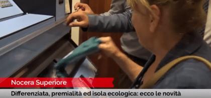 Ecomat: a Nocera Superiore il distributore self service di buste per la differenziata