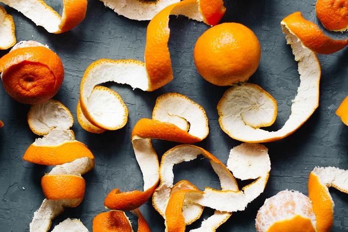 riciclo bucce frutta