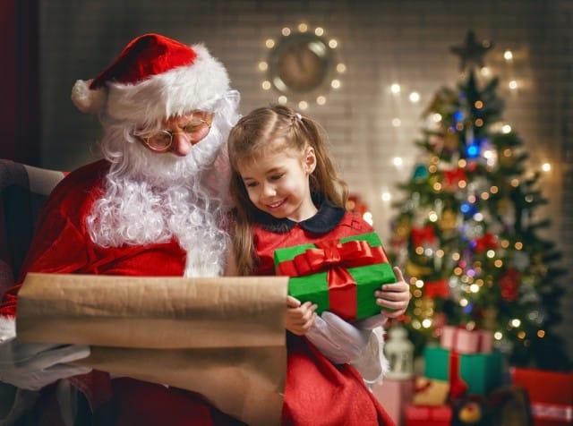 Importanza babbo natale per i bambini non sprecare - Babbo natale porta i regali ai bambini ...