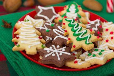 biscotti natalizi con la glassa