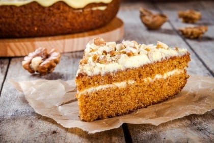ricetta torta alle noci