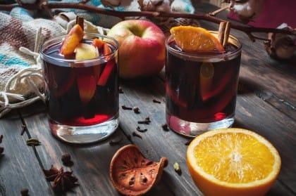 ricetta vino all'arancia