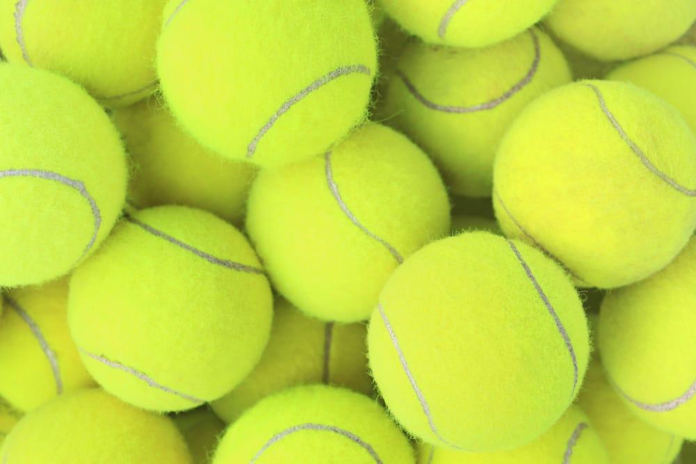 riciclo creativo palline da tennis