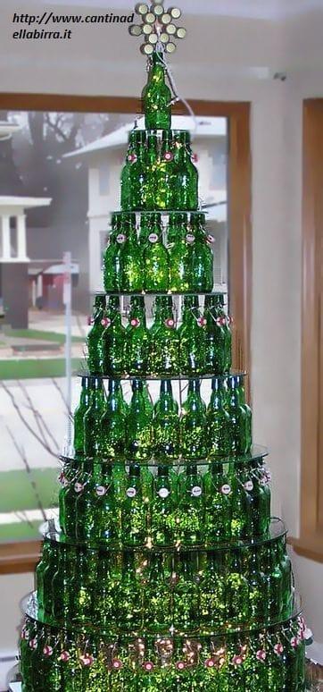 Albero Di Natale Heineken.Riciclo Creativo Bottiglie Di Birra Non Sprecare