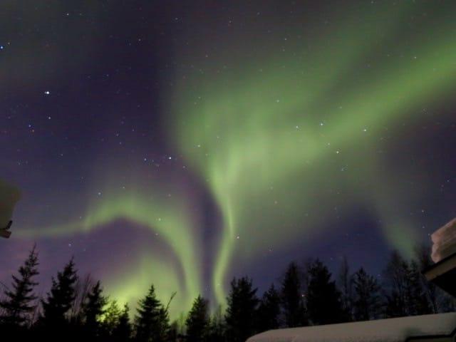 aurora boreale finlandia