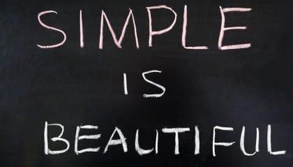 importanza della semplicità