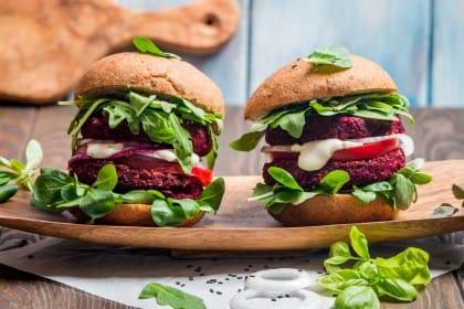 ricetta burger di barbabietola