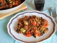 Fantasia di verdure, una ricetta gustosa che recupera il pane avanzato (Foto)