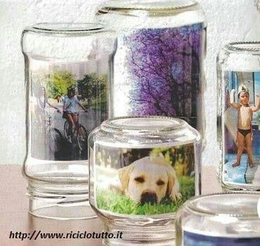 Riciclo creativo dei barattoli di vetro diventano lampade e contenitori per i sali da bagno - Droga dei sali da bagno ...