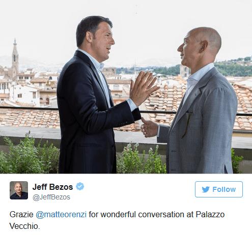 Renzi bezos