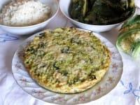 Tortino di riso con foglie di cavolfiore, una ricetta nutriente, sana e davvero deliziosa