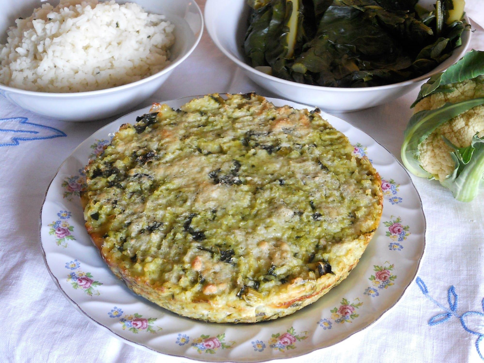 ricetta tortino di riso