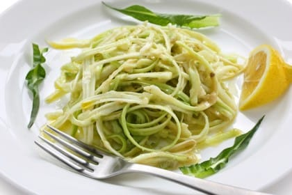 ricetta insalata di puntarelle