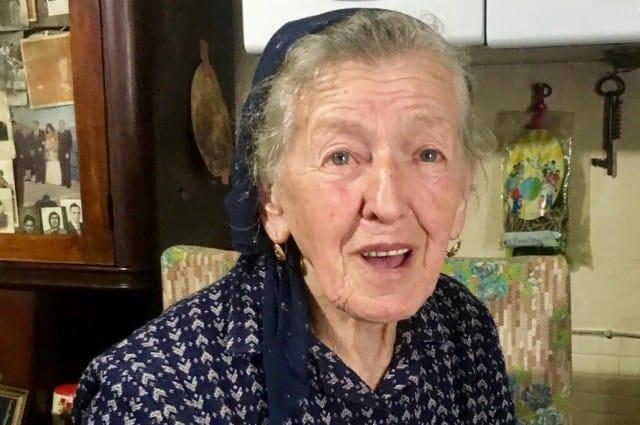 Paolina Grassi, la novantenne che da sola tiene vivo il paese di Casali Socraggio