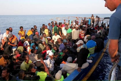 bambini morti in mare