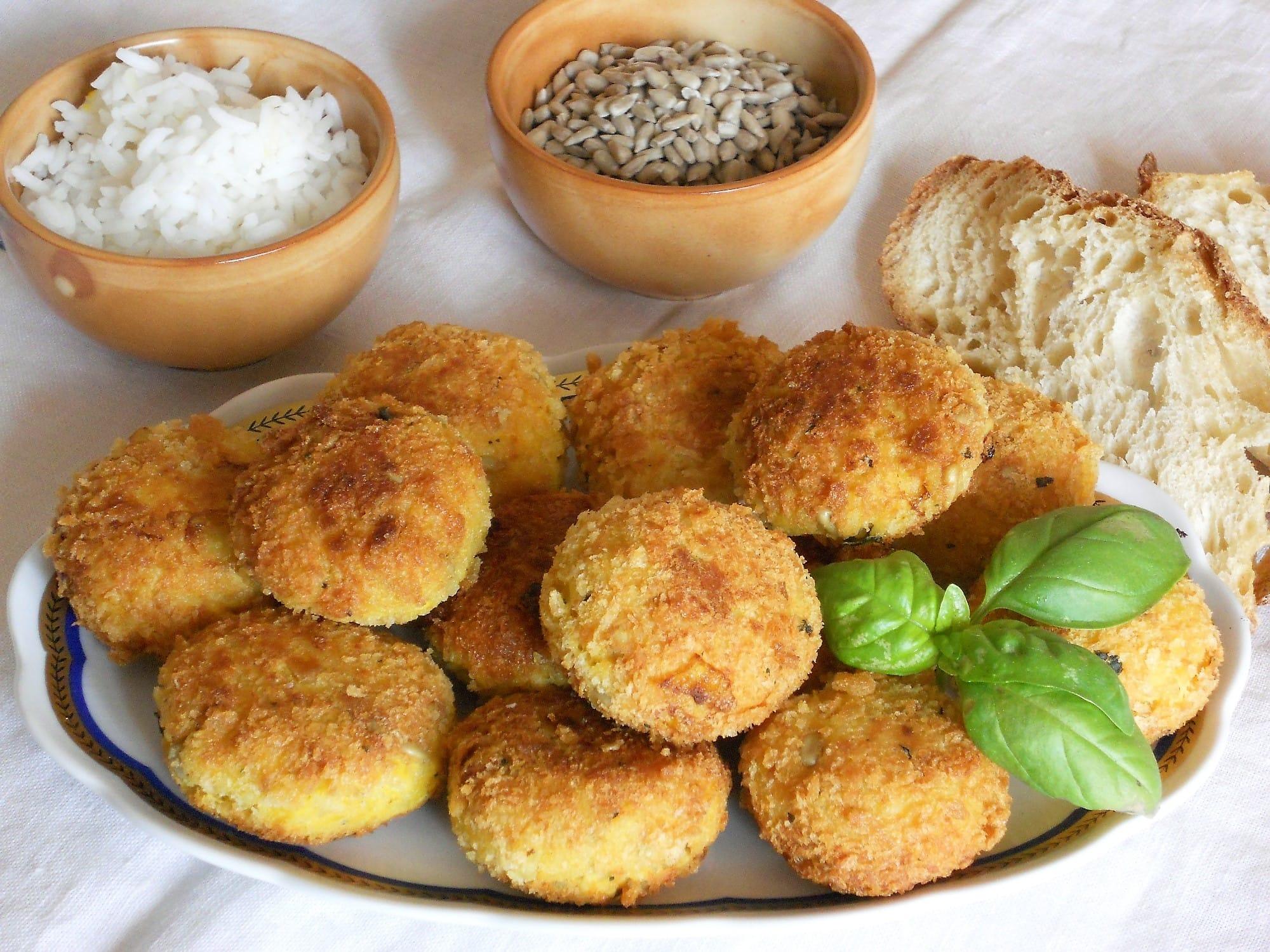 ricetta crocchette di pollo e riso
