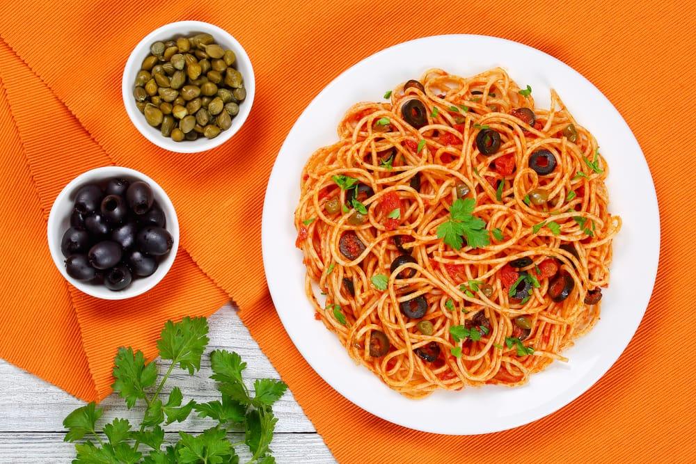 ricetta spaghetti all'eoliana
