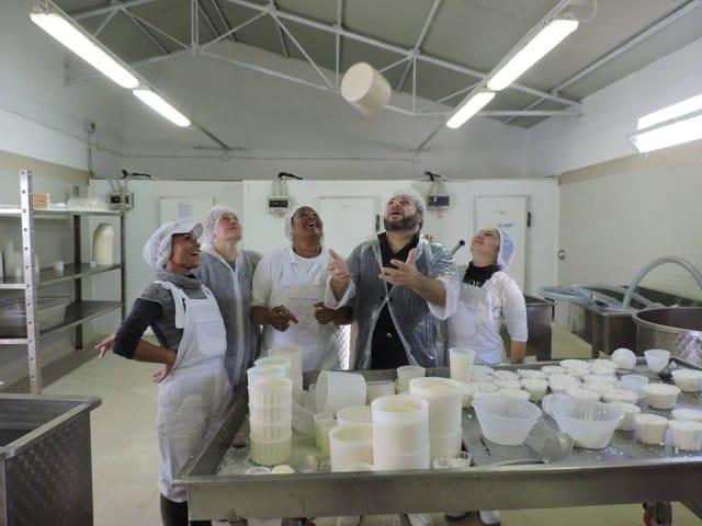 Cibo agricolo libero, nel carcere di Rebibbia le detenute producono formaggi di qualità