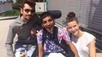 Superare la disabilità grazie agli amici: Amrik ha fatto la maturità con la voce dei compagni