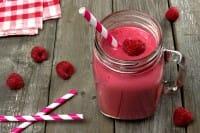 Frullato di lamponi e anguria: perfetto per la pausa pranzo o dopo il mare