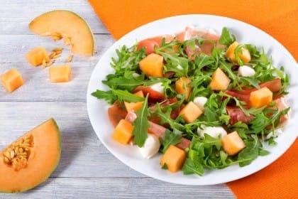 ricetta insalata di melone