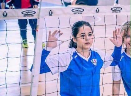 Nadia lotta contro l'epilessia coltivando la sua passione di sempre: la pallavolo (Foto)