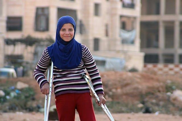 Saja, la piccola gigante che sogna di diventare un'atleta per superare gli orrori della guerra