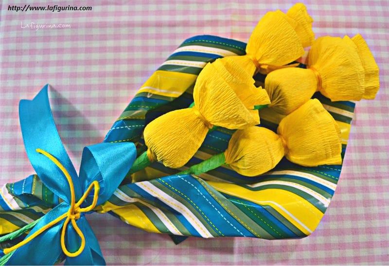 Come realizzare fiori con la carta non sprecare for Costo per costruire un mazzo coperto