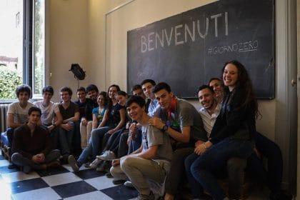 Il Centro culturale realizzato dagli studenti con il crowdfunding. Porte aperte ai cittadini (foto e video)