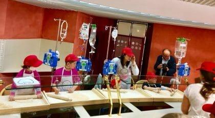 laboratorio per piccoli pazienti