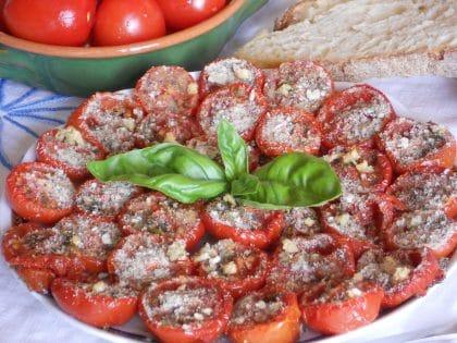 ricetta antipasto di pomodori