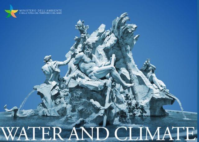 Acqua e clima: a Roma il summit per preservare questa preziosa risorsa, sempre più in pericolo
