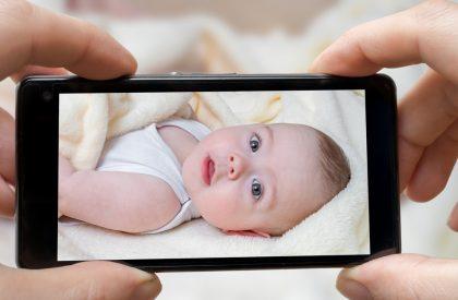 foto minori sui social