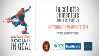 """""""Fai un gol alla povertà"""": la raccolta alimentare organizzata da Io Potentino Onlus con il Potenza Calcio"""