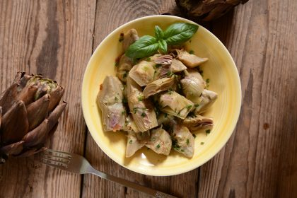 ricetta insalata di carciofi