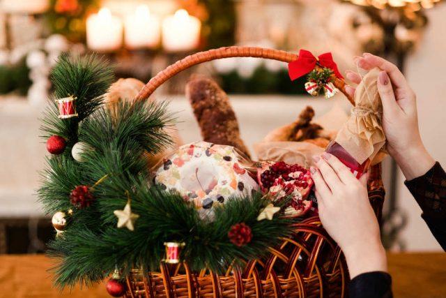 Eccezionale Cesto natalizio fai da te | Non sprecare UX82