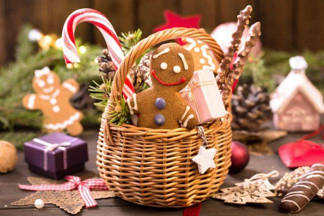 Idee Regalo Dolci Natale.Cesto Natalizio Fai Da Te Non Sprecare