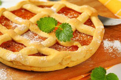 ricetta crostata con crema di succo di mele