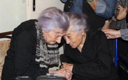 Le nonne d'Europa vivono in Sicilia. Dedè, 112 anni, e Fifì, 106 anni