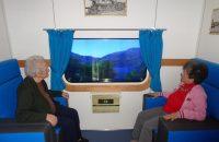 Il treno in una stanza: l'immersione nei ricordi come terapia alternativa per i malati di Alzheimer
