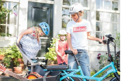 Bicicletta elettrica da trasporto