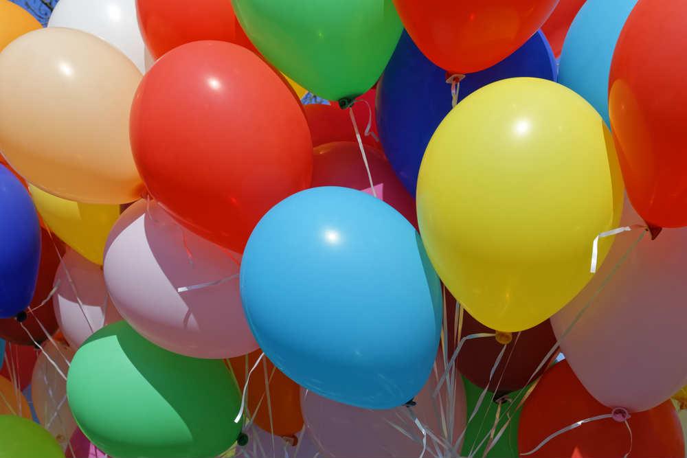 inquinamento causato da palloncini