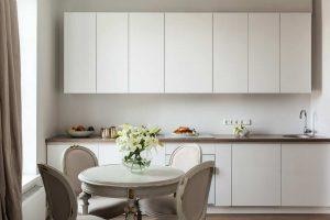arredare cucina total white