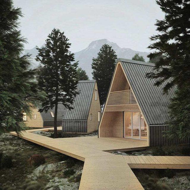casa pieghevole progetto madi