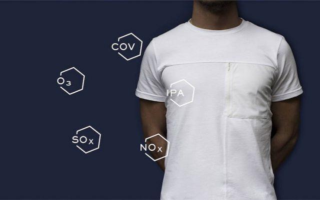 Kloters, la maglietta che ingoia lo smog prodotto da due automobili in città (foto)
