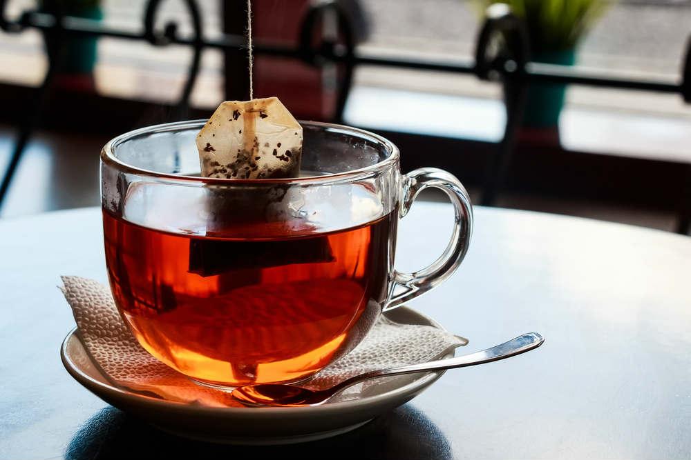 riciclo bustine del tè