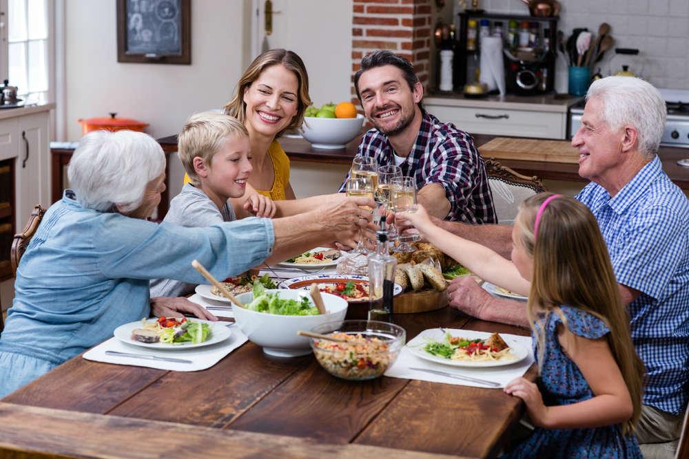 importanza del pranzo in famiglia