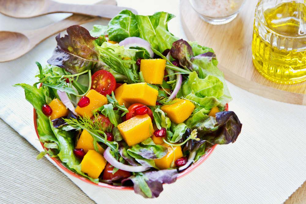 ricetta insalata con mango