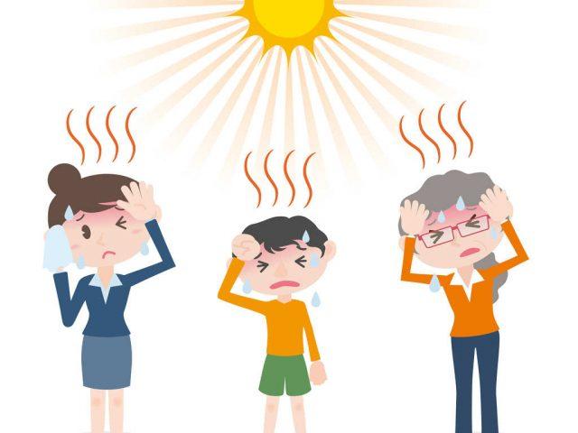 cosa fare in caso di colpo di sole