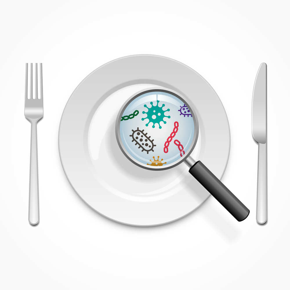 evitare batteri in cucina